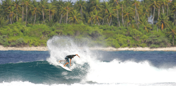 Maldives Waves - Inside Makado Break 2 | Surfatoll Maldives Surf Trips